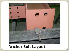 Anchor Bolt Layout
